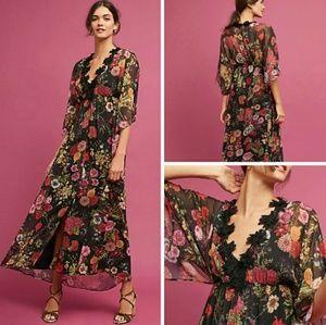 Farm Rio Laina Floral Maxi Dress- Small